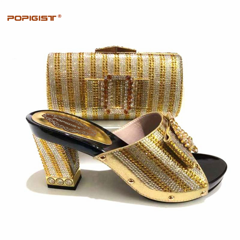 Assorti Cristal De Bandes Africain Black yellow gold Blue Conception Mariage Sac Et Italiennes Chaussure À Dames red Assortir fuchsia Nigérian Ensemble Chaussures royal 7CdwCqr