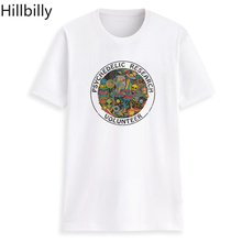 Hillbilly Funny Tshirt T Shirt Women 2018 Vintage Cotton Tee Plus Size PSYCHEDELIC RESEARCH VOLUNTEER