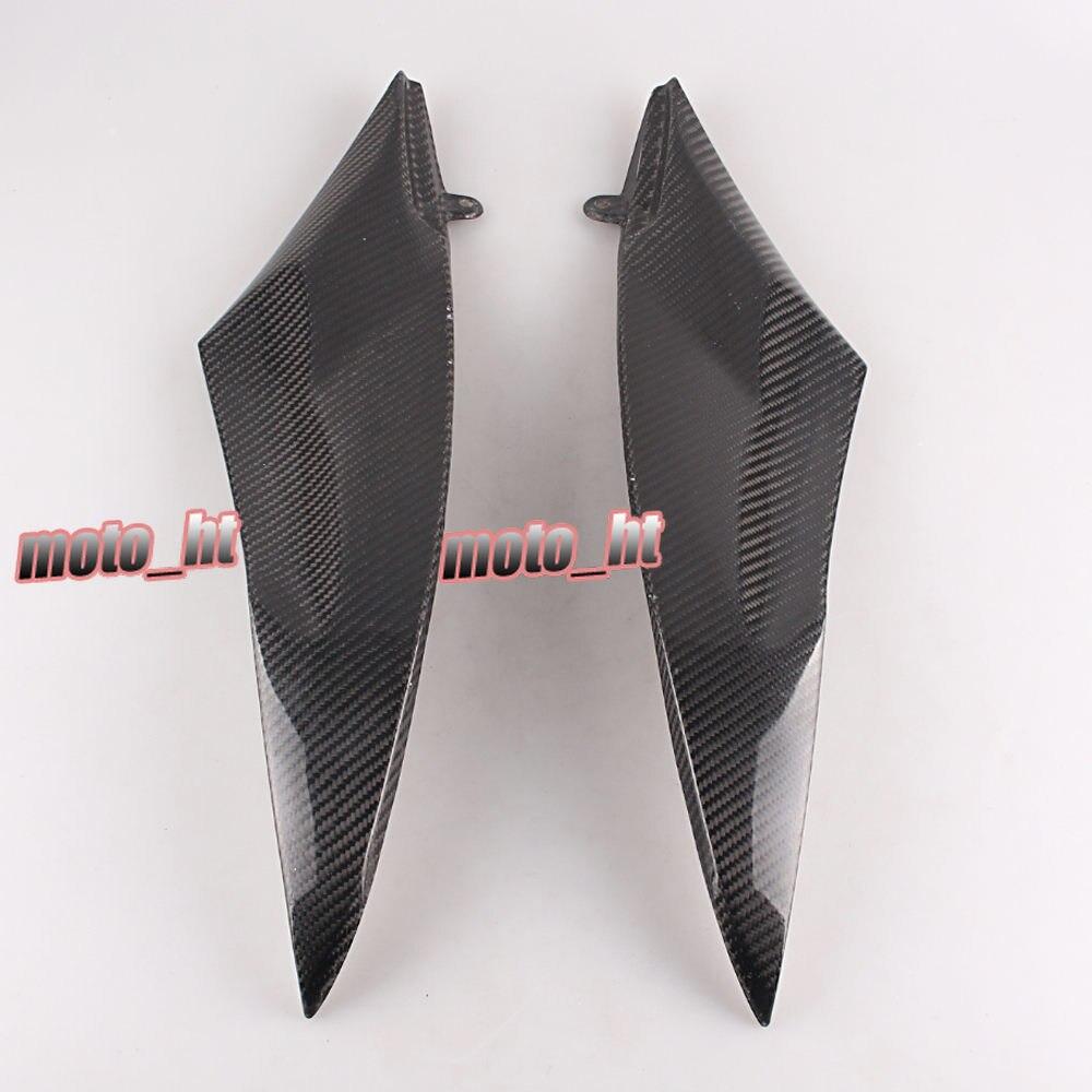 Углерода Волокно бак боковой крышки Панель обтекателя Для Yamaha YZF R6 2006 2007