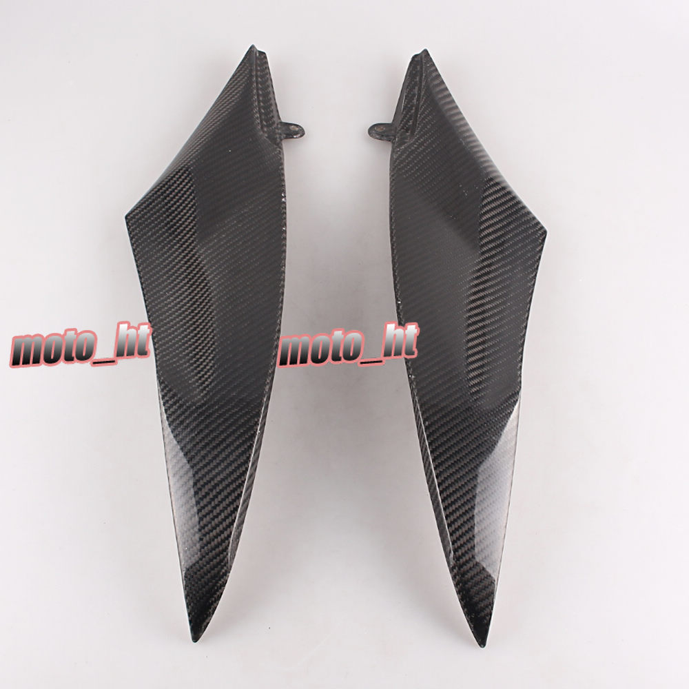 цены Carbon Fiber Tank Side Cover Panel Fairing for Yamaha YZF R6 2006 2007