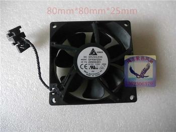 Dc12v 0.50a servidor ventilador para delta electronics qfr0812sh-8ss8 square servidor fan $ number hilos 80x80x25mm