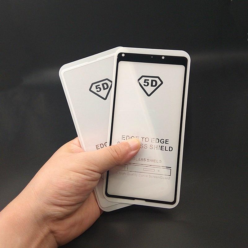 Image 5 - 5D полное покрытие из закаленного стекла для Xiao mi Pocophone F1 mi A2 Lite 8 SE Red mi Note 5 Pro Note5 Индия Global 5 Plus защита экрана-in Защитные стёкла и плёнки from Мобильные телефоны и телекоммуникации on AliExpress