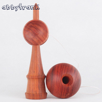 Cherry Kendama Red Rosewood Kendama Toy Skillful Professional Juggling Ball Game Sword Ball Toys For Children