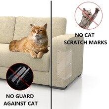 2 шт./лот диван защита кошачьи когти) класса-premium на коврик для кошек, Когтеточка для кошек защитное покрытие от когтей для дивана, мебели подушечки для дивана