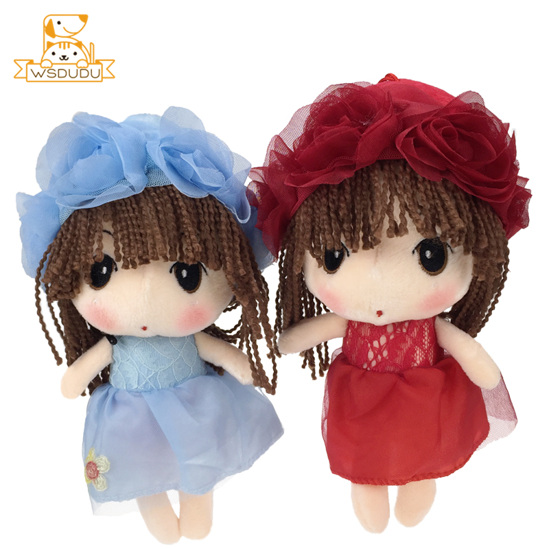 Flower Fairy Girls Beautiful Soft Dolls Cute Cartoon Blossom Plush Stuffed Toys Adorable Kawaii Mayfair Sleeping Children Gifts