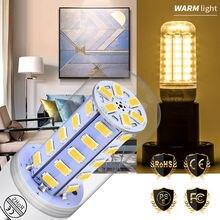 Led Bulb E27 Corn Light E14 Lamp 220V Lampada Candle Lights SMD5730 Energy Saving Indoor Lighting 24 36 48 56 69 72leds