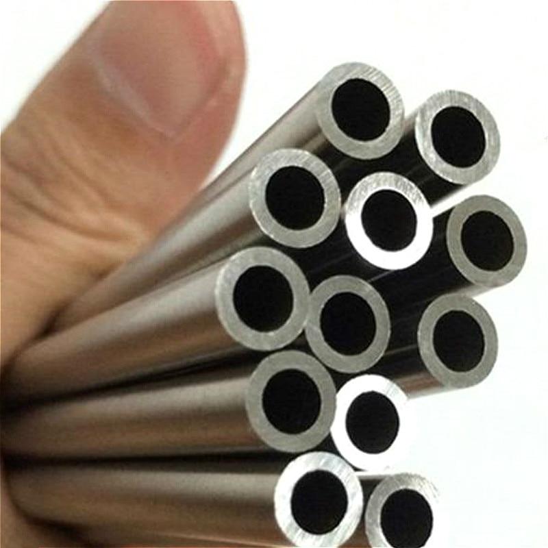 10pcs 500mm 304 Stainless Steel Capillary Tube Tubing OD2-12mm ID1-10mmmm,8mm*6mm,10mm*8mm,6mm*4mm,2mm*1.6mm,12mm*10mm