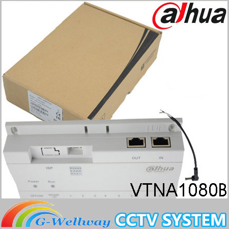 Original ahua Access Control System 8-CH Unit Net Distributor Analogue Products Without Logo VTNA1080B with DC24V power adapter in stock dahua free shipping 4 ch unit net distributor without logo vtna1040b