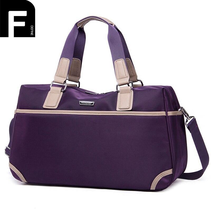 Large Capacity Folding Travel Bag Waterproof Women Men Weekend Travel Bags Portable Unisex Shoulder Handbags Women Luggage Bags