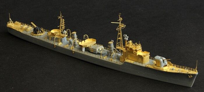 Seconde guerre mondiale transformation des navires de la marine américaine (avec Dragon de Hong Kong 7092) modèle d'assemblage jouets