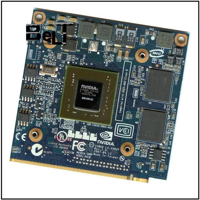 Đối với Acer Aspire 7520 gam 7520 7720 7720 gam Dòng Máy Tính Xách Tay GeForce 8400 8400 m GS DDR2 256 mb VGA đồ họa Video Thẻ Tàu Miễn Phí