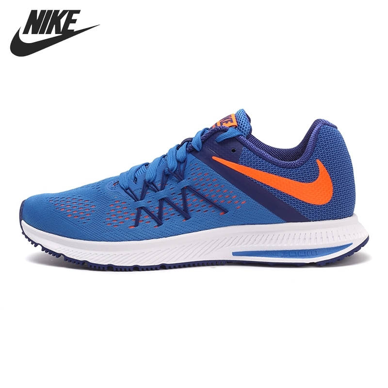 Nike New Arrival Original ZOOM WINFLO 3 Men's Running Shoes Breathable Lightweight Outdoor Sneakers 831561 nike nike zoom winflo 2