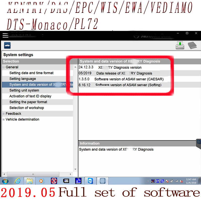 Newest Comprehensive 2019 09 MB STAR C4 full Software  XENTRYSCN/DASEPC/WIS/Starfinder/EWA/VEDIAMO/DTS-Monaco HDD/SSD For C4/C5