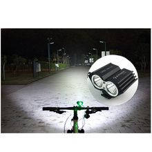 ESSEN Bicycle Light T6 L2 10000mAh Flashlight Led Lantern USB Rechargeable Headlight Mount Bracket Cycling Fornt Lamp