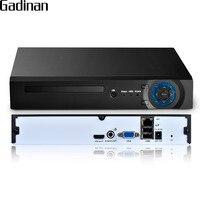 GADINAN 8 Channel 4MP CCTV NVR Security System H 265 H 264 HDMI VGA HD Output