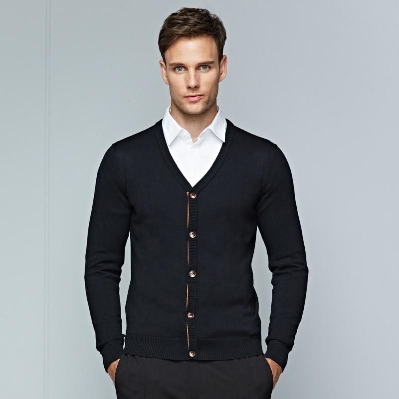 Intelligent Herren-pullover Stricken Marke Frühling Herbst Mode Lässig Einreiher Dünner Mantel Männlichen Baumwolle Warme Kleidung Mäntel Größe M 3xl
