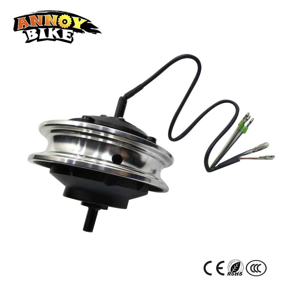 Electric brushless gear hub motor 10'' 36V/48V 200W/250W/350W electric double shaft Wheelchairs motor wheelbarrow carts motor 12inch hub motor brushless 36v 350w double shaft electric bicycle motor motorcycle double shaft energy scooter wheel for ebike
