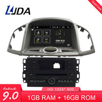 LJDA 8 Inch Android 9.0 Car DVD Player For Chevrolet Captiva 2006 2015 Auto Radio Audio RDS Bluetooth Canbus GPS Navigation