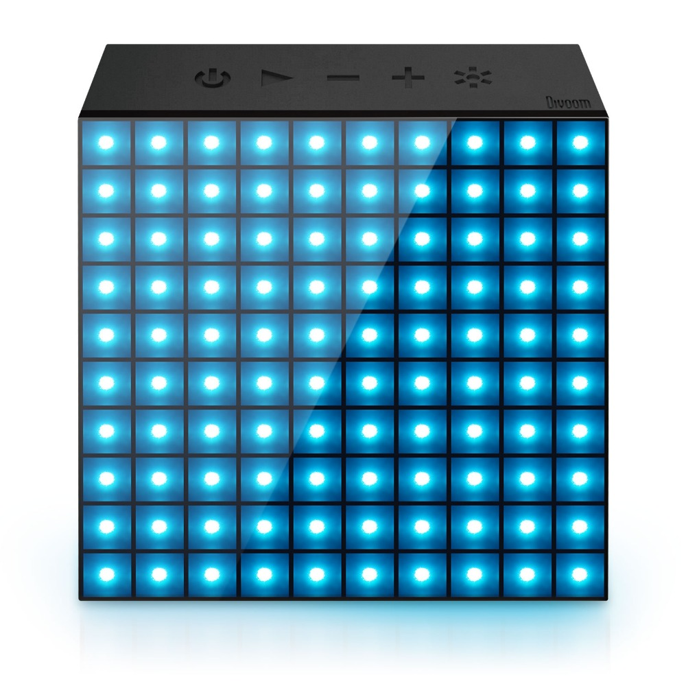 DIVOOM AURABOX Bluetooth SMART LED Speaker with APP Control for Pixel Art Creation + animation and Social Media Notification