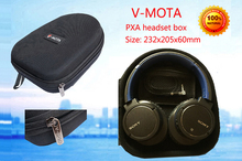 лучшая цена V-MOTA PXA headphone Carry case boxs for SONY MDR-XB900 MDR-XB910 MDR-XB920 MDR-XB600 MDR-XB650BT MDR-XB620 NWZ-WH50 headset