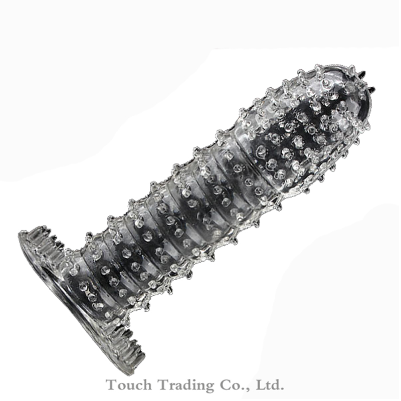 Crystal Cock Rings Adult Sex Products Reusable Condom Sexy Toys Penis Sleeves Penis Extension Cock Rings Sex Toys for Men