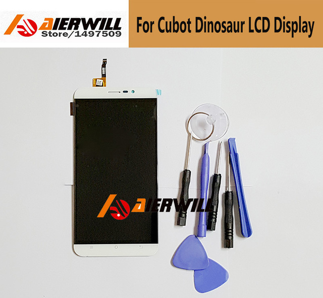 100% NEW For Cubot Dinosaur  LCD Display + Touch Screen Digitizer Assembly Replacement Repair Accessories For Cubot Dinosaur