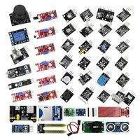 45 в 1 сенсор s модули Starter Kit для arduino, лучше, чем 37in1 сенсор комплект 37 в 1 сенсор комплект