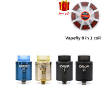 Free Gift Digiflavor Drop RDA With BF Squonk 510 Pin 24mm Electronic Cigarette Tank Large Post