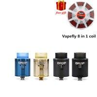 Quà tặng miễn phí!!! Digiflavor Thả RDA với BF squonk 510 pin 24 mét thuốc lá điện tử bồn bể chứa lớn post-lỗ Bước luồng không khí thiết k