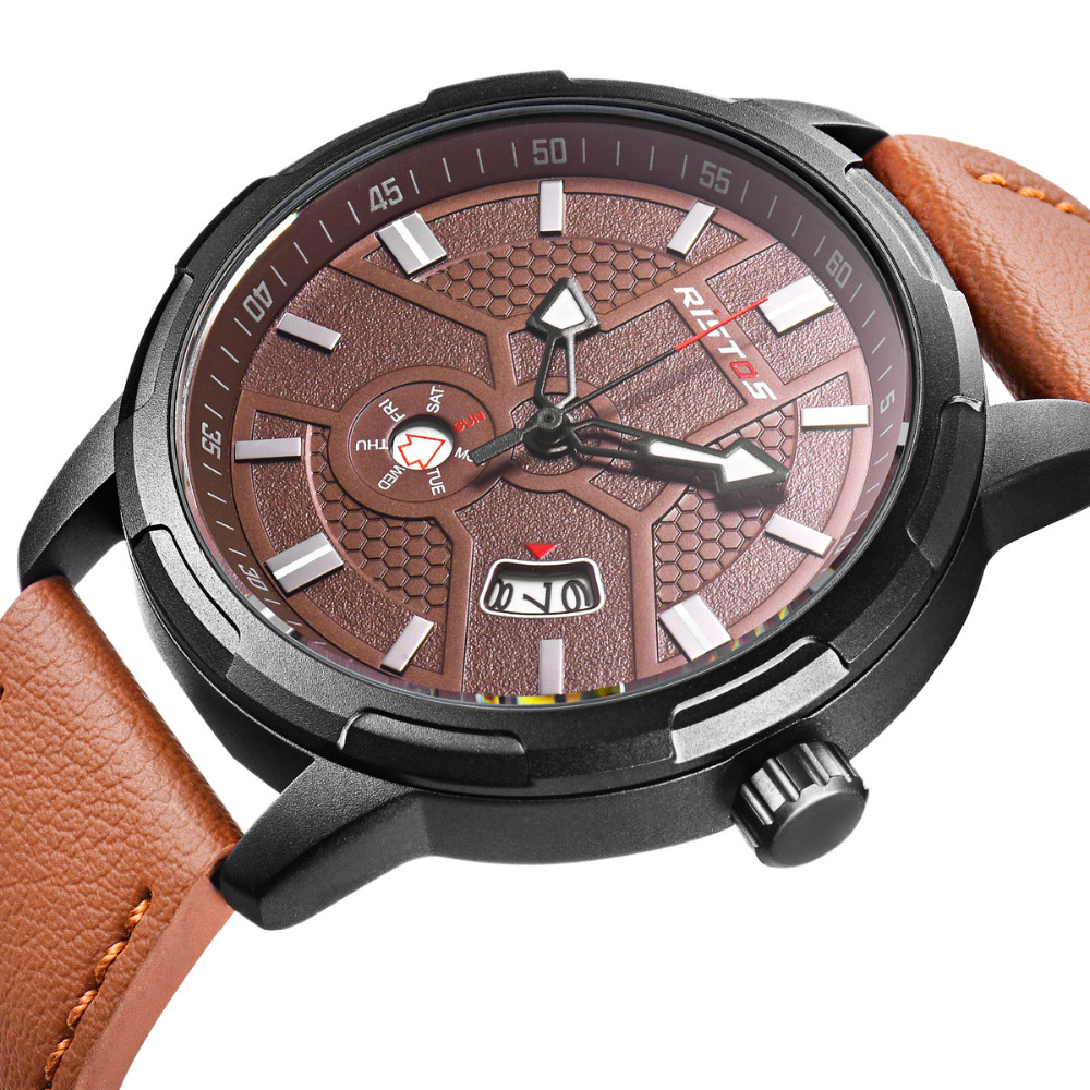 где купить LONGBO Luxury Leather Strap Brand Watches Sports Men Water Resistant Business Watch Male Easy Read Auto Date Wristwatches 9329 по лучшей цене