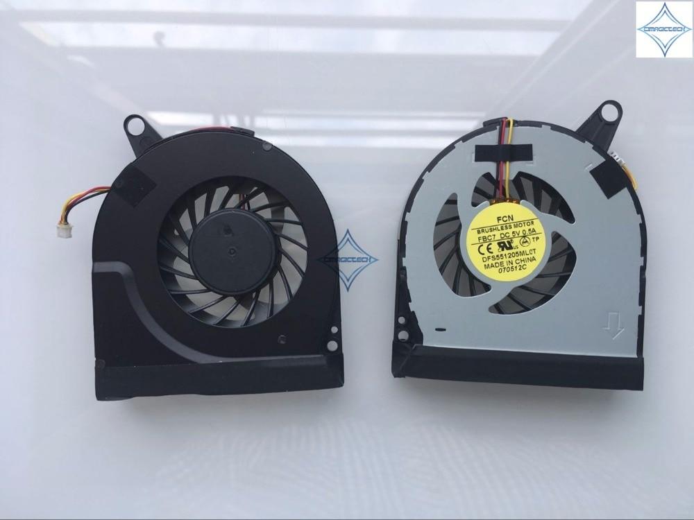 original new for Acer V3 V3-731 V3-731G V3-771 V3-771G V3-772 V3-772G FORCECON DFS551205ML0T FBC7 laptop cpu cooling fan new laptop fan for acer for acer v3 731 v3 731g v3 771 v3 771g with heatsink