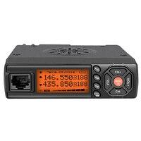 Radio de Coche móvil Walkie 25 Watts 13.8 V 400-470 HZ Aluminio 128 Canales Radio de Dos Vías Talkie Al Aire Libre conjunto