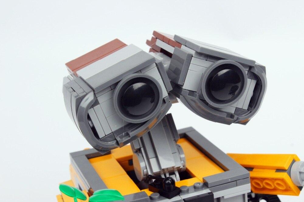16003 Technic film série idée Robot mur E blocs de construction jouets 687 pièces éducatifs enfants cadeaux Compatible Bela - 2
