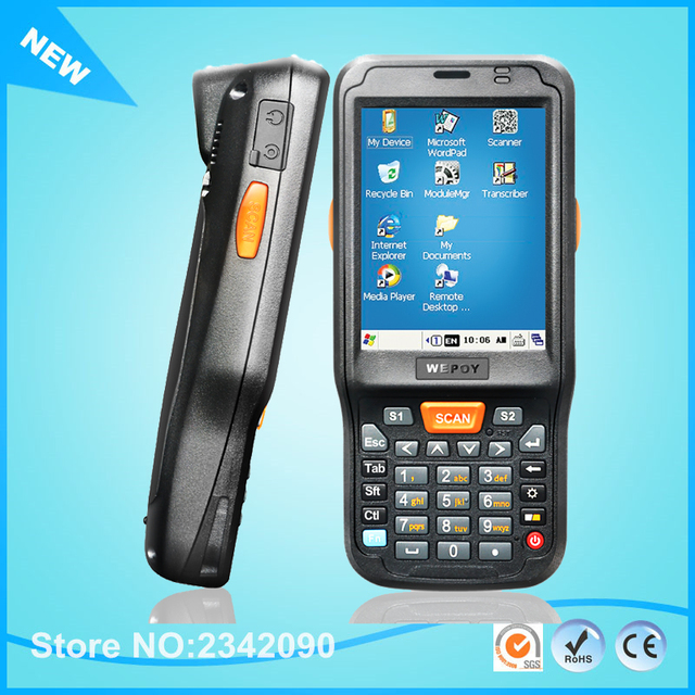 Windows Ce 6 0 Os 1ghz Rugged Handheld Data Collector Pda For 1d Barcode Scanner With