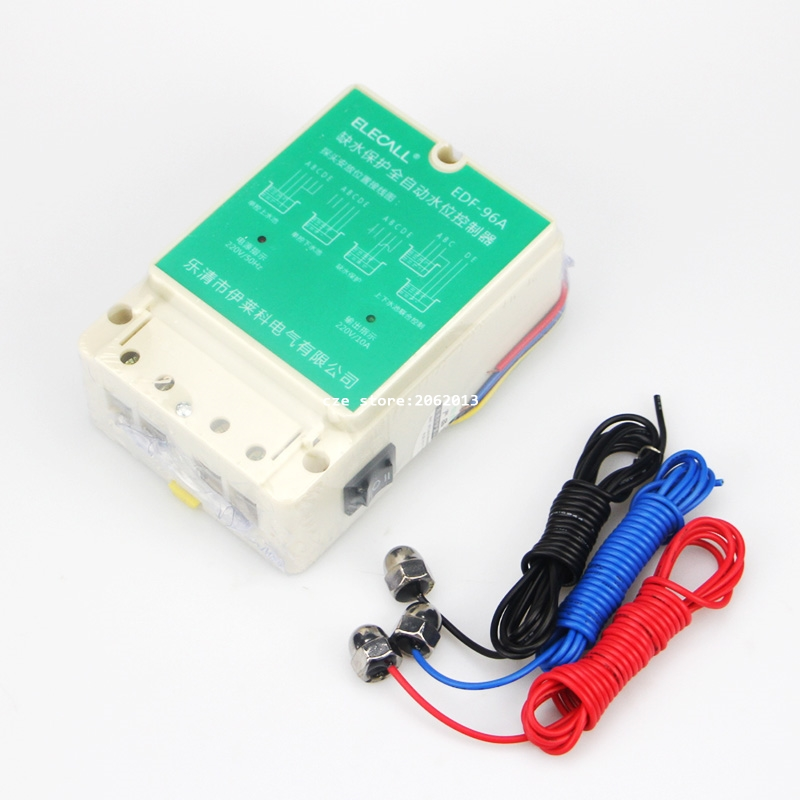DF-96A DF96A 220V 10A float switch type Auto water Electronic Water Level Controller With 3 Probes