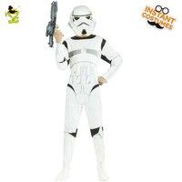 New Customized Storm Trooper Costume Adult Men's Obi Wans Kenobi Fighting Dress Costume For Halloween Star Big War Role Play