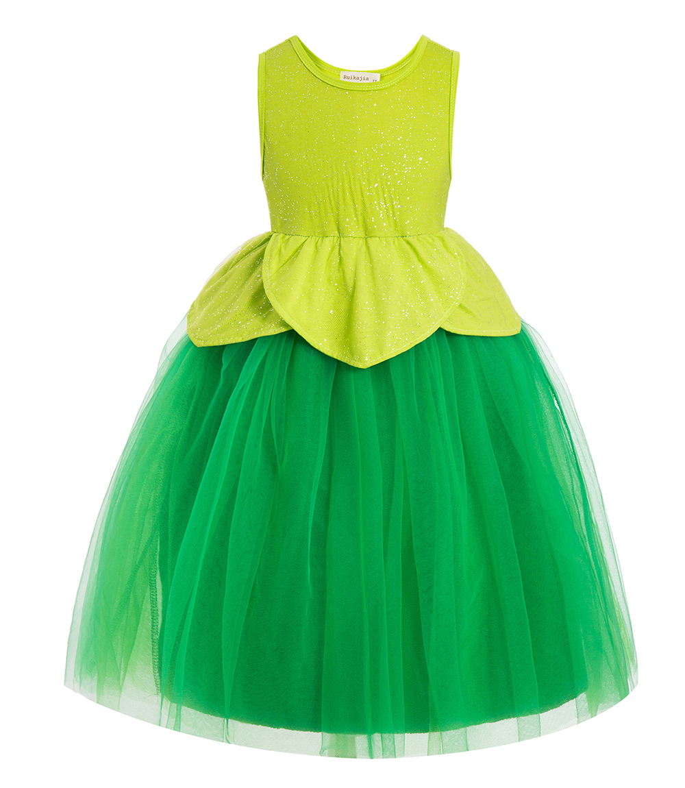 bell Ruffle Top Birthday Outfit Outfit Birthday Outfit Outfit  birthday tutu dress Flower Girls' Dresses kids clothes girls dres 1