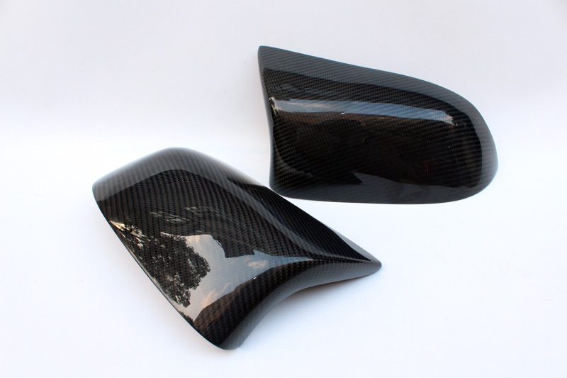 F16 X6 M Estilo Fibra de Carbono Substituir Tampa do Espelho de Carro - Peças auto - Foto 6