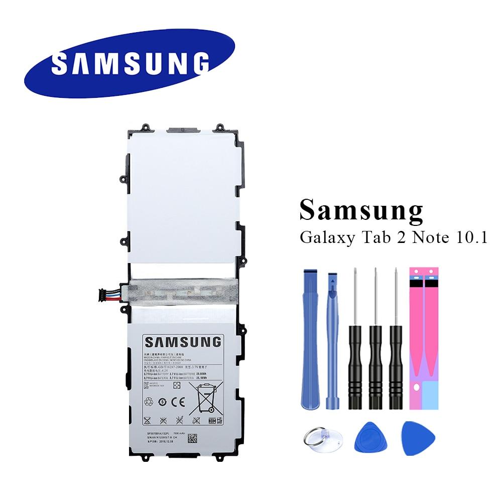 Original Samsung Tablet Battery SP3676B1A For Samsung Galaxy Tab 2 Note 10.1 N8000 N8010 N8013 N8020 P7510 P7500 P5100 7000mAh