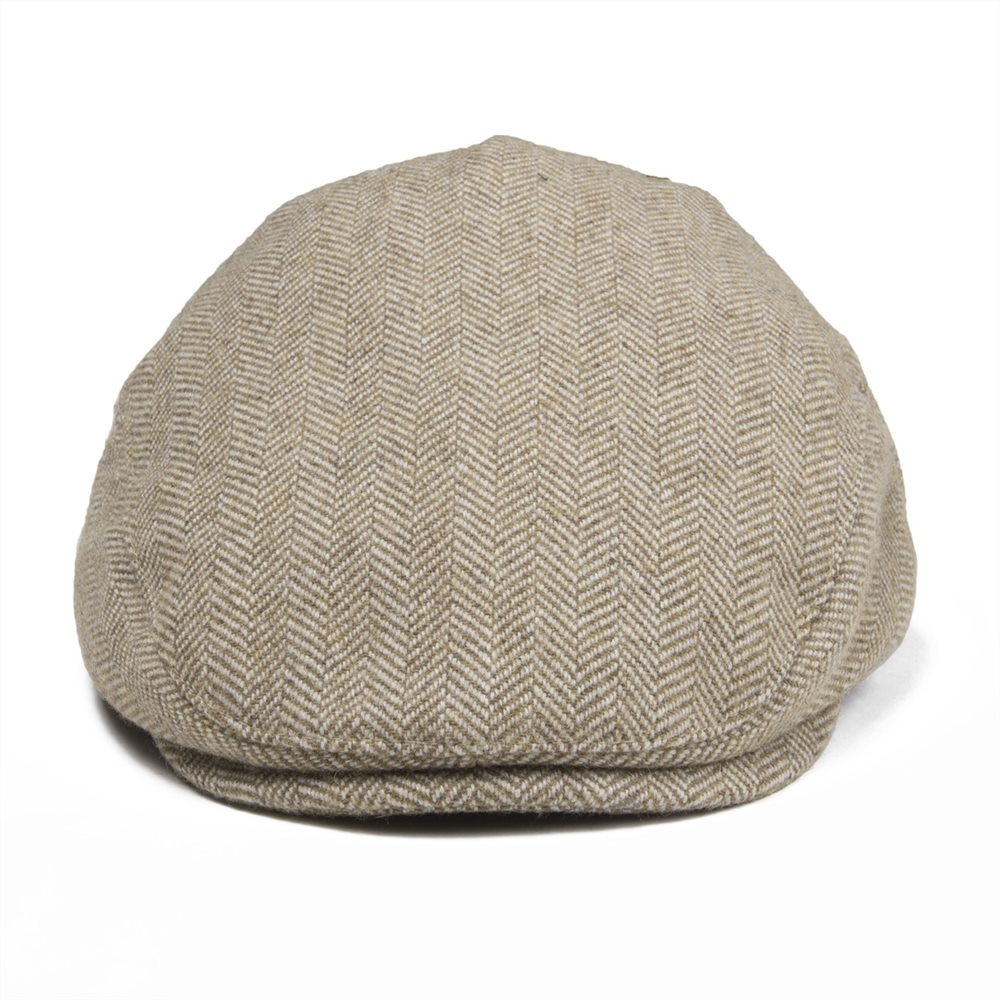 Jangoul Small Size Kids Child Woollen Tweed Herringbone Flat Cap Boy Girl Newsboy Caps Infant Toddler Youth Beret Hat Boina 002 Damenmode