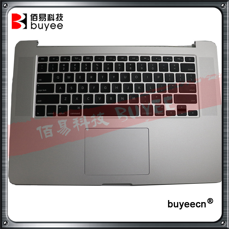 Original A1398 2013 2014 15'' For Macbook Pro Retina Top Cover US Keyboard Backlight Trackpad Touchpad ME293 ME294 MGXA2 MGXC2