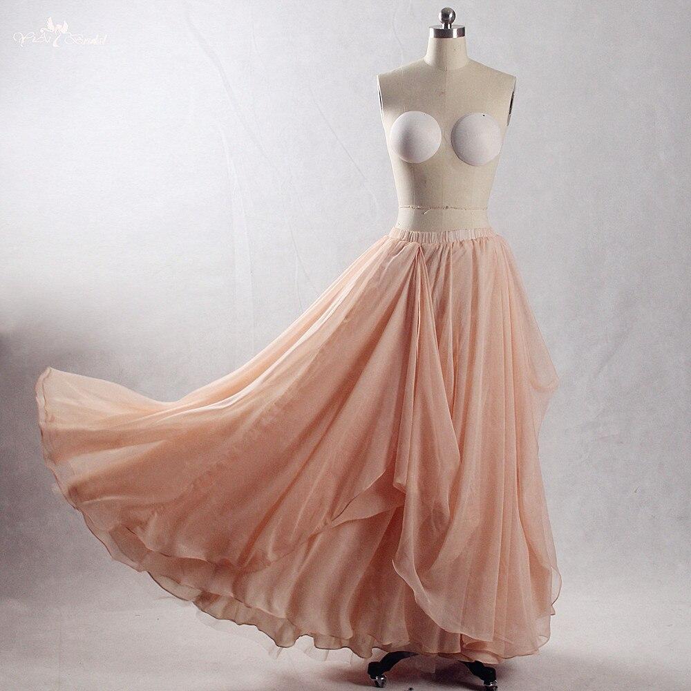 RSK6 robe de pêche en mousseline de soie séparée