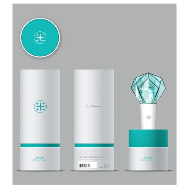 In stock LED KPOP SHINEE Light Stick Official 2018 New Stick Lamp Concert Light-up Lamp Fan-Made Gift Collection Hiphop