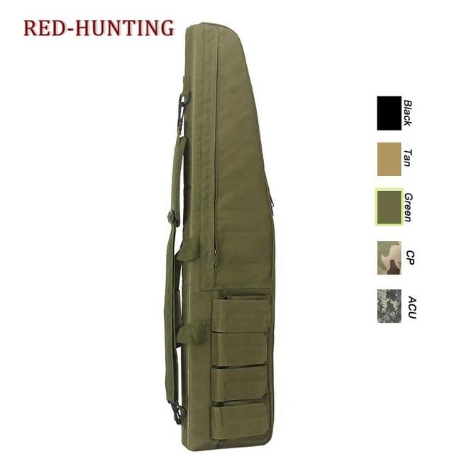 47'' 120cm/70cm/95cm Tactical Gun Bag Heavy Duty Rifle Shotgun Carry Case Bag Shoulder Bag for Outdoor Hunting 4