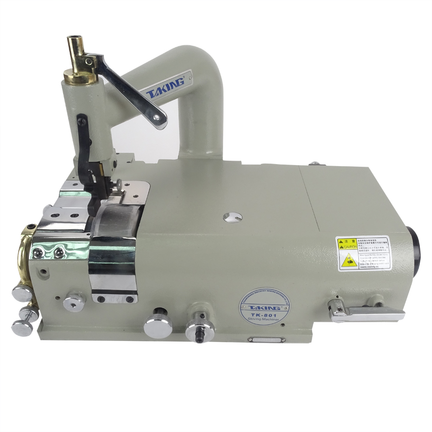 TK 801 Leather Skiving Sewing Machine for Edge Scraping Synthetic Leather Shoes Plastic Articles add 110V or 220V Motor Optional