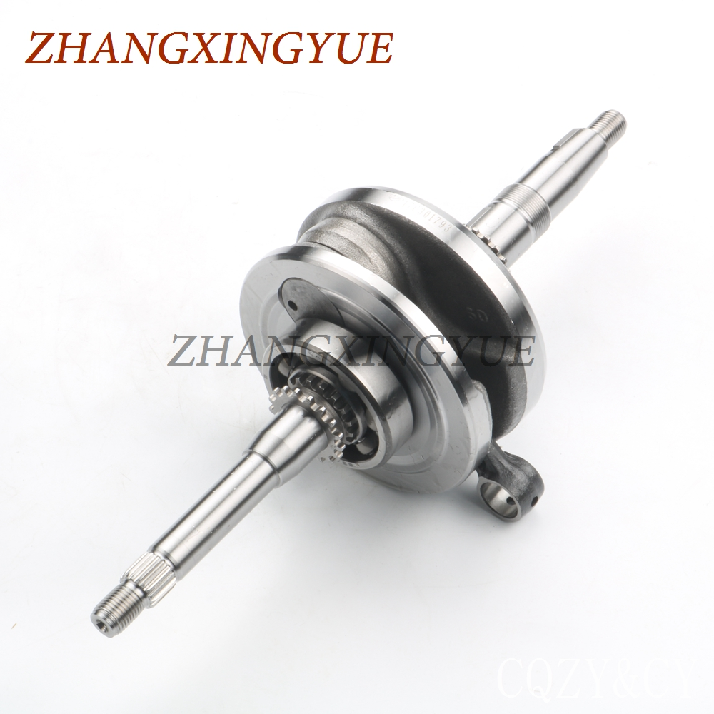 High quality crankshaft for FLY SCOOTERS Cadenza IL Bello 150 4T GY6 125cc 150cc 152QMI 157QMJ high quality crankshaft gy6 125 150cc scooter engine crankshaft 152qmi 157qmj spare parts ycm drop shipping