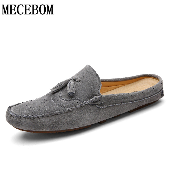 f72a6c2772 New Men s Flats Mens Genuine Leather Loafers casual Shoes Mocassim Masculino  Male Sapatos Chaussure Homme size 38-44 2808