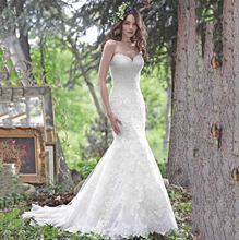 Elegant Sweetheart Lace Wedding Dress For Women Lace Up Back Appliqued Court Train Bridal Gowns Casamento
