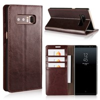 Luxury Leather Flip Case For Samsung Galaxy Note8 Case Samsung Note 8 Case Protective Wallet Phone