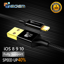 TIEGEM Fast charging Charger  USB Cable For iphone 5 6 plus i6 i5 iphone 5 5s 7 for ipad air2 Mobile Phone Cables 1M 2M 3M wire